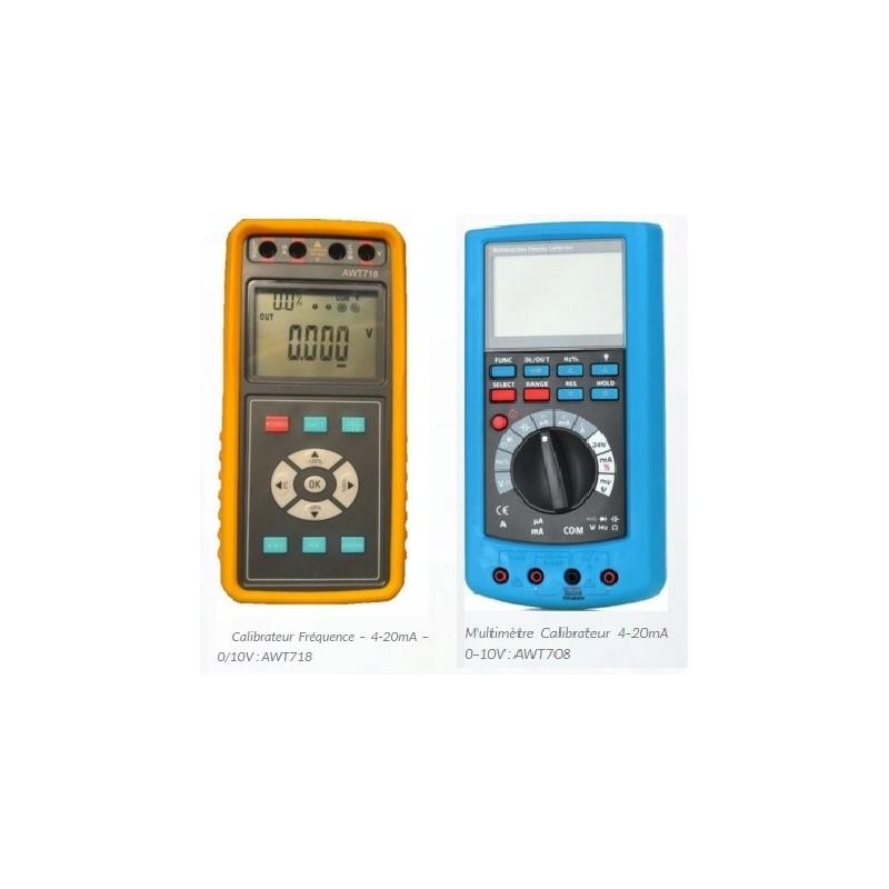 Calibrateurs - Générateurs - Récepteurs signaux